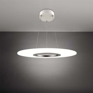 光之隐者系列圆形透明可调色温吊灯 36w/24w 3000k 办公会议酒店