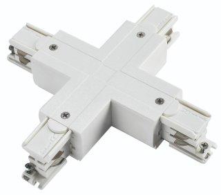 四线导轨十字型连接器黑/白/银灰