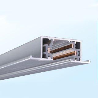 嵌入式3线(单回路)路轨 A类(含轨道,双尾盖)长度100cm-400cm 黑/白/银灰