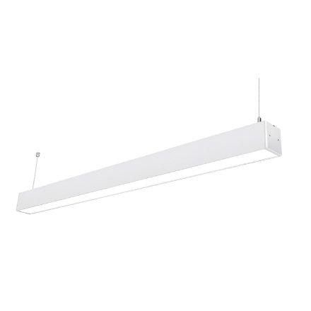55x75吊線式不斷光拼接線條燈Ra=80/4000k/40W