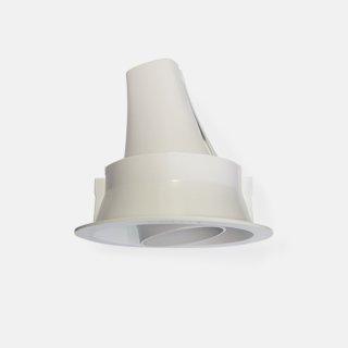 圆形嵌入式射灯 水平可调350度深藏防炫 开孔Φ115mm 18W家居办公商业