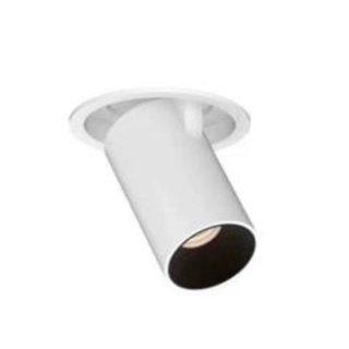 天花高显高PF无频闪可调角度射灯 半嵌入式 开孔90mm 12W 商业