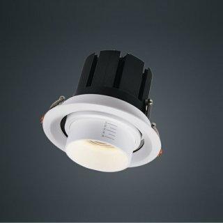 高显射灯可调焦15-60° 20W/30W 开孔Ø120mm3000K/4000K/6000K办公商业