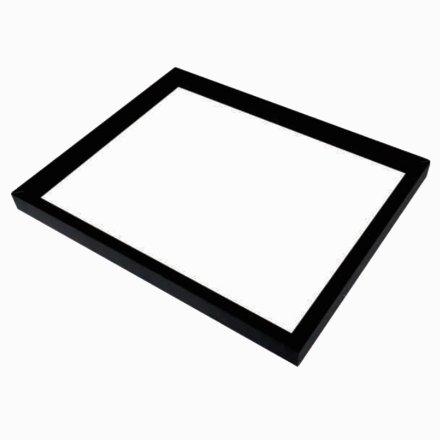 LED框架玻璃層板燈12V低壓航空鋁材邊框尺寸可定制衣帽間