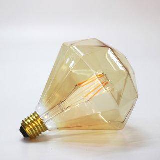 钻石灯泡 E27 氛围灯泡 金色/2100K/4W