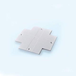 四线导轨十字型连接器盖板黑/白/银灰