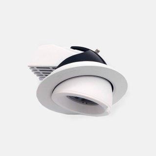 高显色 可调角度射灯 嵌入式安装26W象鼻灯开孔110mm 3000K办公商业