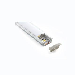 超薄嵌装硬灯条线型灯装饰线条灯嵌入式12W/M家居办公商业