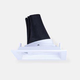 单头面板类嵌入式高显色射灯18W开孔120x120mm/3000k家居办公室商业