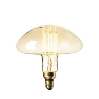 卡尔加里 蘑菇泡 直灯丝 6W 氛围灯 金色/钛色 E27/2200K
