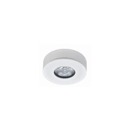 櫥柜射燈 6W 鎖釘間距68mm 燈具尺寸82*25mm 鎳紋掃 Ra>80 4000K 不可調光